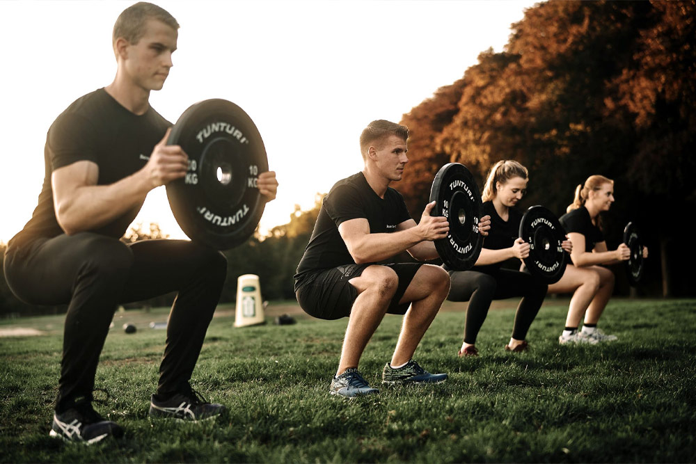<h3>Bootcamp is a full-body workout</h3>